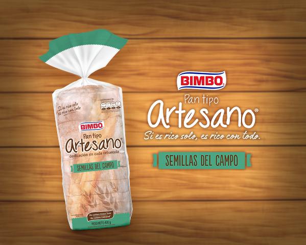Pan Tipo Artesano Semillas Del Campo